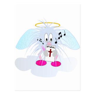 Canto en coro de los cielos tarjetas postales