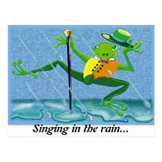 Canto en la lluvia… postales