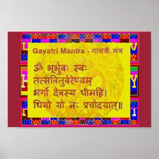Canto espiritual sánscrito de la escritura del