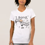 Canto la figura musical camisetas y regalos del pa