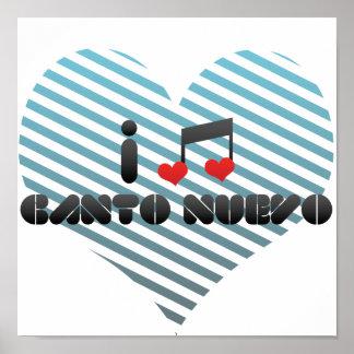 Canto Nuevo Poster
