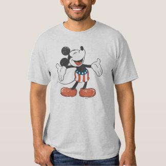 Canto patriótico de Mickey el   del día de fiesta Playera