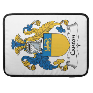 Canton Family Crest MacBook Pro Sleeves