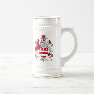 Canton Family Crest 18 Oz Beer Stein