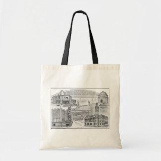 Canton Ohio Historic Landmarks Canvas Bag