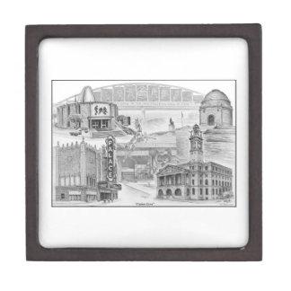 Canton Ohio Historic Landmarks Jewelry Box