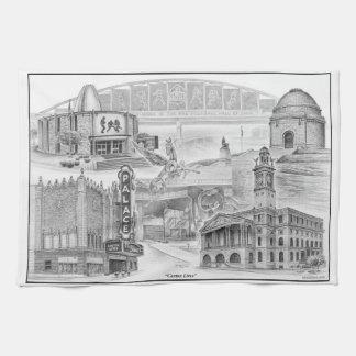 Canton Ohio Historic Landmarks Kitchen Towel