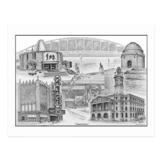Canton Ohio Historic Landmarks Post Card