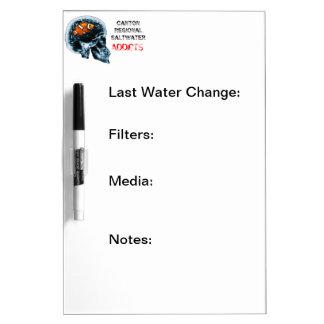 Canton Regional Saltwater Addicts Dry Erase Board