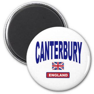 Cantorbery Inglaterra Imán Redondo 5 Cm