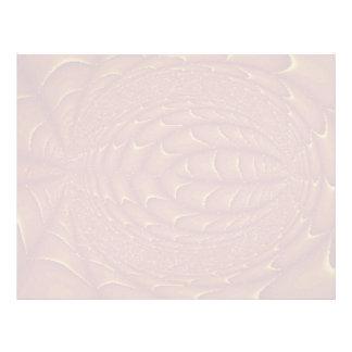 Cantos abstractos del moho membrete a diseño