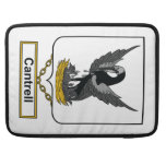 Cantrell Family Crest Sleeve For MacBook Pro