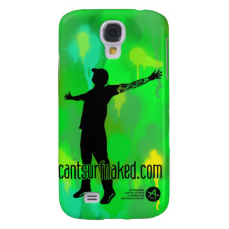 cantsurfnaked (camouflage) samsung galaxy s4 cover