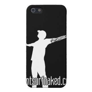 cantsurfnaked (White) Case For iPhone 5
