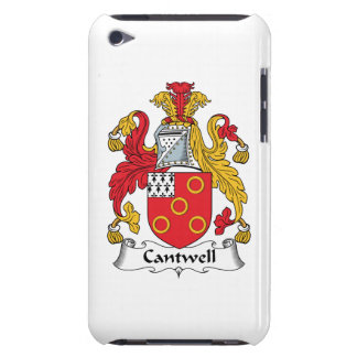 Cantwell Family Crest Barely There iPod Case