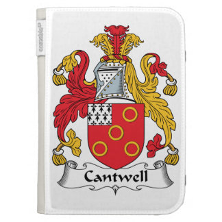 Cantwell Family Crest Kindle Keyboard Covers