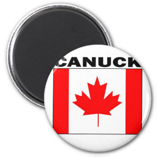 Canuck 2 Inch Round Magnet