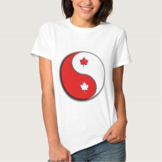 canuck yin yang tshirt
