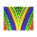 Canvas abstract gallery wrap canvas