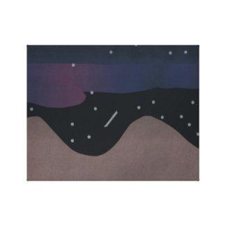 Canvas Art of Nighttime Skies
