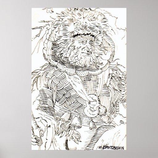 CANVAS ART PRINTS & POSTERS - FLAMBOYANT MAN  ARTS