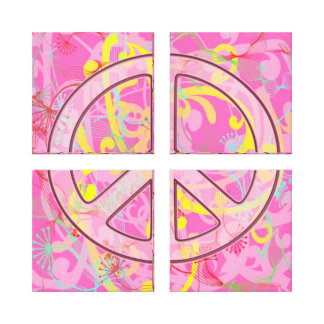 CANVAS ARTWORK - SEPARATED PEACE - WALL DECOR