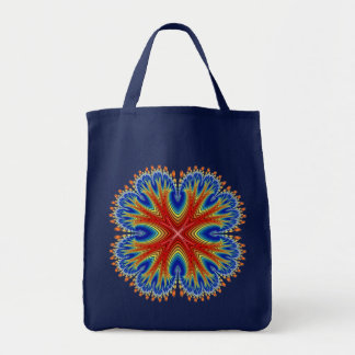 Canvas Bag: Antarian Moon Blossom Grocery Tote Bag