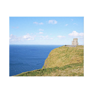 Canvas - Cliffs of Moher in Spring Gallery Wrapped Canvas