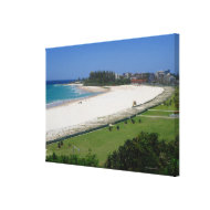 Canvas Coolangatta Beach Queensland Australia Canvas Print