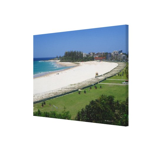 Canvas Coolangatta Beach Queensland Australia