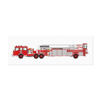 Canvas Custom Designed Fire Truck