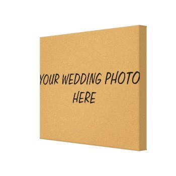 Canvas Custom Photos by CREATIVEWEDDING at Zazzle