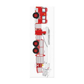 Canvas fire truck wall art...