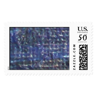 Canvas In Blue Postage