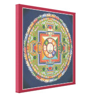 CANVAS - Mandala of Buddha of Compassion