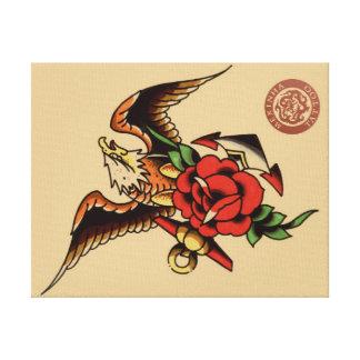 canvas mexinha tattoo canvas print