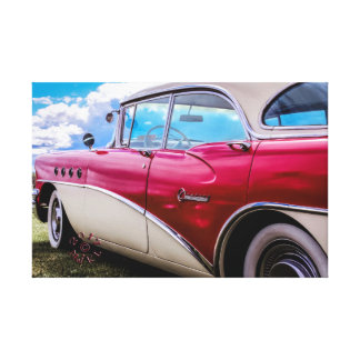 Canvas of a 1955 Buick Century Riviera