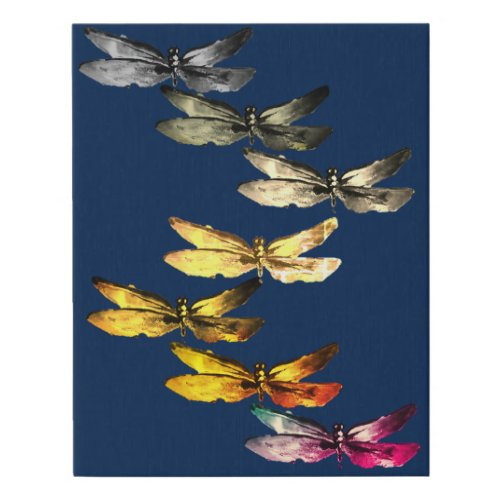 Canvas photo - dragonfly canvas decor