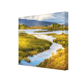 Canvas photograph of the Highlands in Scotland