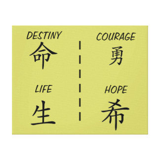 CANVAS PICTURE CHINESE WISDOM