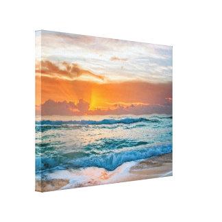 Canvas picture Sunrise