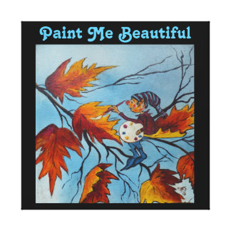 Canvas Print Ann Hayes Painting Pixie Painting