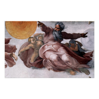 Canvas Print - Creation of Sun, Moon, and Planets