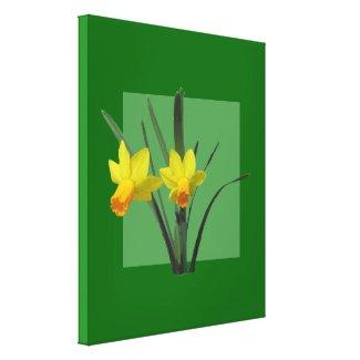Canvas Print - Daffodils
