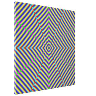 Canvas Print Dizzy Geometry