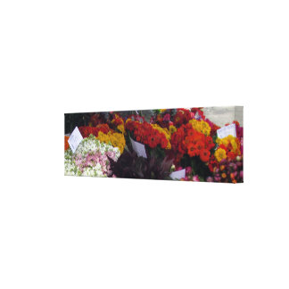 Canvas print - Flower Market