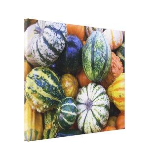 Canvas Print Gourds