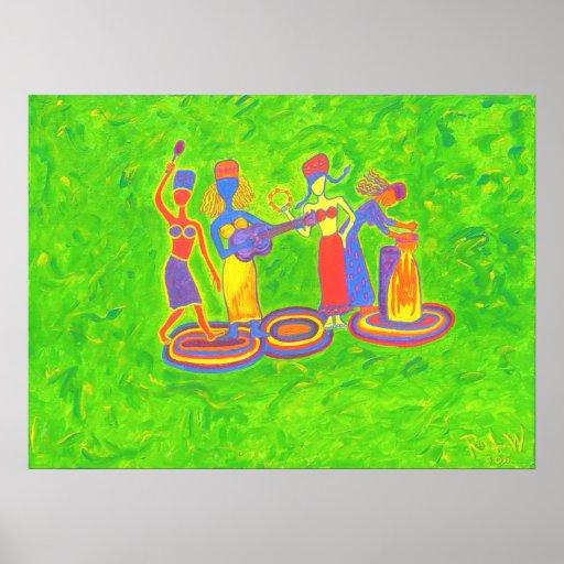 Canvas Print - Joyful Noise