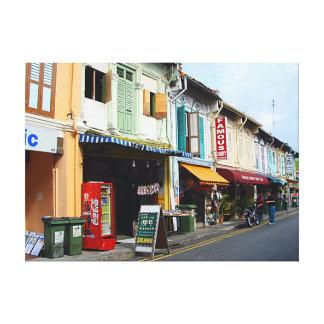 Canvas Print | Little India Singapore buildings