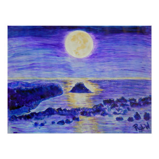 Canvas Print- Moonlight Celebration